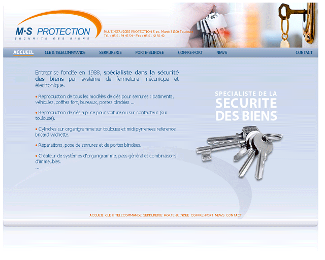 Image du site internet www.multiservices-protection.fr